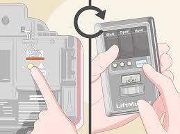 Liftmaster Light Bulb 3 Simple Ways To Reset A Liftmaster Garage Door Opener Wikihow