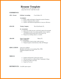 First Job Resume Templates Resume Example Of High School Student Resume