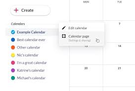 calendar that i can edit dashboard to create and manage your events and calendars