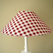 red gingham lampshade bliss and bloom ltd gingham checked lamp shades blue gingham lampshade