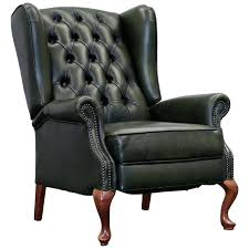 queen anne wingback recliner chair leather recliner attractive chair with queen anne recliner wing chair