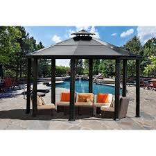 better homes and gardens sawyer cove outdoor gazebo 12 ft x 10 ft com