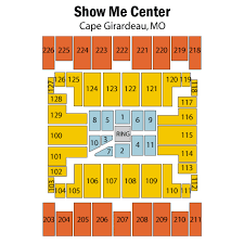 Show Me Center Cape Girardeau Tickets Schedule Seating