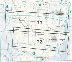 Jeppesen High Altitude Enroute Charts Africa Ifr Enroute High Low Altitude Chart Ahl 11 12