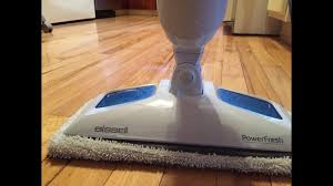 bissell 1940 powerfresh steam mop hard floor steam cleaner blue reviews