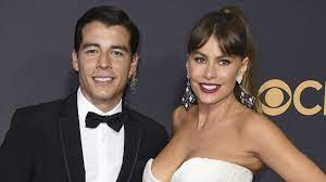 Sofia Vergara's son at the Emmys