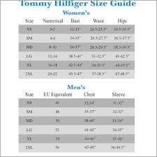 Tommy Hilfiger Size Chart Us Tommy Hilfiger Size Chart Best Of Uk To Us Size Chart Best