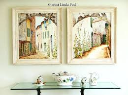 french wall art french decor plate kitchen wall art