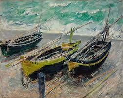 Three <b>Fishing Boats</b> - Claude Monet — Google Arts & Culture