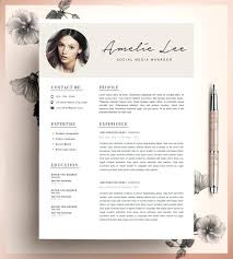 Creative Resume Template Creative Resume Template Template Instant ...
