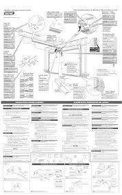 installing a garage door openerGenie Garage Door Opener 3625336189 User Guide  ManualsOnlinecom