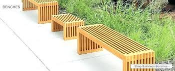 teak bench outdoor garden sydney