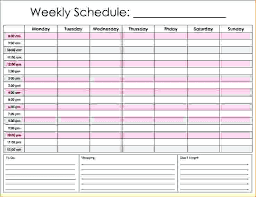 Printable Daily Calendar Daily Hourly Calendar Template Elegant Free Printable Schedule