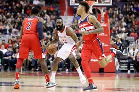 Silas says cousins and gordon are probable to join oladipo in tomorrow's game, but john wall won't play. James Harden John Wall Kelly Oubre Jr James Harden And John Wall Photos Houston Rockets V Washington Wizards Zimbio
