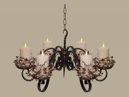 luxury candle chandelier non electric 68 most matchless outdoor wrought iron votive holder small wall mounted hanging candleabra light definition ikea diy