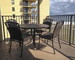 enjoy this breathtaking view from the balcony and brand new patio furniture balcony condo patio furniture