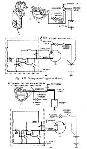 principle of operation (automobile) Automotive Alternator Wiring Diagram machine sensed regulator (lucas)