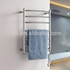 Electric Towel RackElectric Heated Towel Warmer Heated Rails Wall