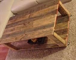 diy pallet wood coffee table wooden