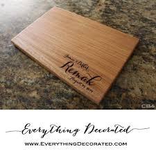 engraved cutting board personalized cutting board housewarming gift wood cutting board monogram cutting board wedding cutting board 12x8