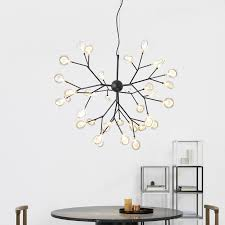 post modern north europe style warmly firefly chandelier lamp decorate for the bedroom canteen room bar