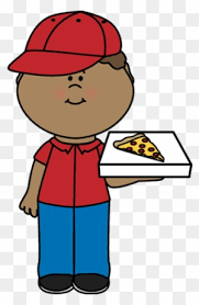 pizza delivery clipart. Perfect Delivery Pizza Delivery Boy  Clipart To M