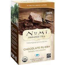 Organic Tea, Pu-Erh Chocolate Pu-Erh, 16 Tea Bags, 1.24 oz (35.2 ...