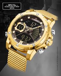 New Watches <b>NAVIFORCE Top Brand</b> Luxury Gold Quartz Mens ...