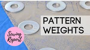Pattern Weights Stunning Cheap Easy Pattern Weights From Home Depot SEWING REPORT YouTube