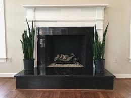 fireplace cool black granite fireplace surround design decorating best under home improvement black granite fireplace