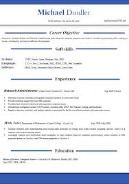 Gallery Of Resume Current Resume Formats Current Resume Format