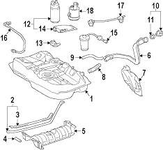 parts com® lexus es300 fuel system components oem parts 1998 lexus es300 base v6 3 0 liter gas fuel system components