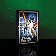 Star Wars Light Up Poster Details About Star Wars A New Hope Poster Light Up Canvas Wall Art Bedroom Accessories