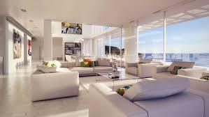 modern beach furniture. Modern Beach House Home Arsuf Design Interior Glass Sofa White Ideas Art Pop Furniture View Window