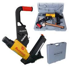 ramsond 2 in 1 air hardwood flooring cleat nailer and stapler gun