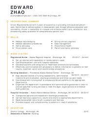 Modern Nurse Resume Format Word Resume It Resume Template Unforgettable Registered Nurse