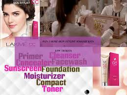 win lakme 9 to 5 makeup range1