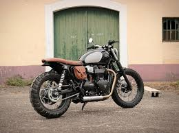 triumph bonneville t120 tracker by baak motorcycles