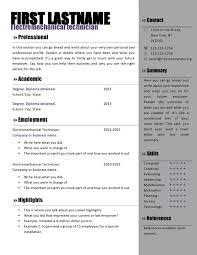 Free Resume Templates Microsoft Word Free Curriculum Vitae Templates