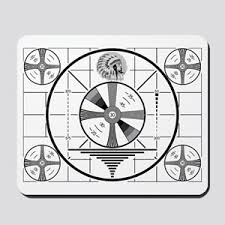 Indian Head Test Pattern Interesting Indian Head Test Pattern Mouse Pads CafePress
