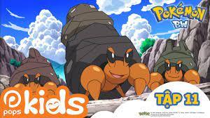 Pokémon Tập 11 - Ishizumai, Hãy lấy lại ngôi nhà của bạn - Hoạt Hình Pokémon  Black And White