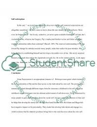 great expectations pip s journey toward self discovery essay  self discovery essay example text preview