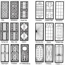 Security Door Style Options   Classic Ironworks