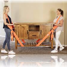 Lifting Moving Shoulder Straps Lift Aid Tool Heavy Furniture