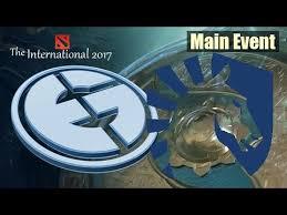dota 2 live team liquid vs eg the international 2017 main