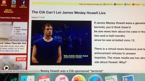 CIA Patsy James Wesley Howell - YouTube