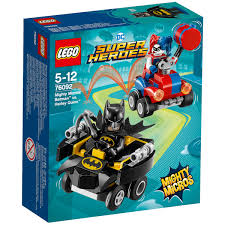 lego superheroes mighty micros batman vs harley quinn 76092 image 1