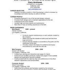 Past Or Present Tense In Resume Resume Past Or Present Tense Job