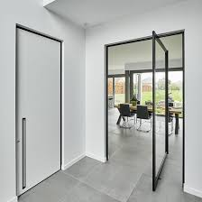 swing doors also called pivot doors are most natural choice for office buildings and other work spaces they are characterized from other types of doors