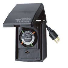 15 amp 24 hour outdoor plug in heavy duty timer